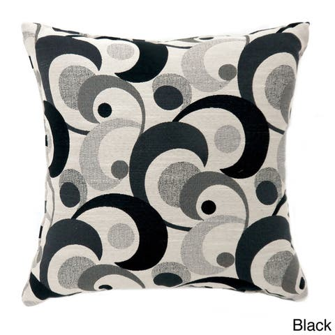 Furniture of America Jeer Contemporary Fabric Throw Pillows Set of 2