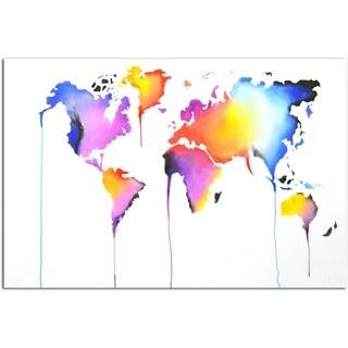 Bright World Original Painting on Canvas