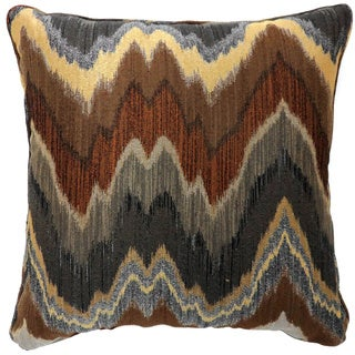 Furniture of America Peaks Patterned Decorative Throw Pillow (Set of 2)