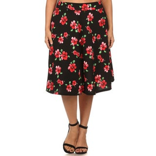 MOA Collection Women's Plus Size Floral A-line Pencil Skirt|https://ak1.ostkcdn.com/images/products/11454607/P18413294.jpg?_ostk_perf_=percv&impolicy=medium