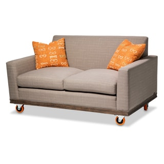 Detroit Loveseat with Tangerine Wheels by Michael Amini