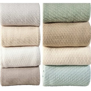 Hotel Luxury Super Soft Cotton Blanket with Bonus Cabinet Knobs