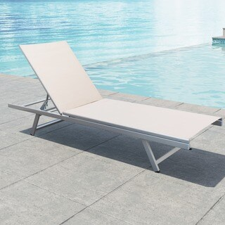 CorLiving Gallant Mesh Reclining Patio Lounger