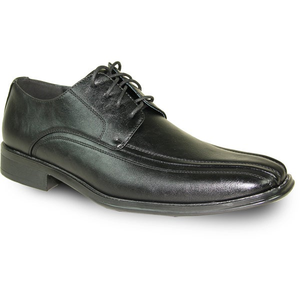 BRAVO Men Dress Shoe MILANO-3 Oxford Black