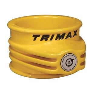 Trimax TFW55 Ultra Tough 5th Wheel Trailer Lock Yellow