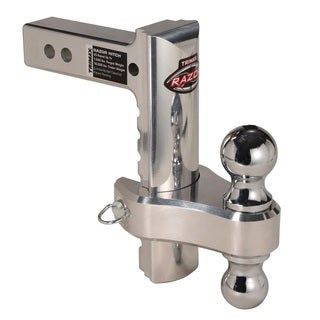 Trimax TRZ8AL-RP Razor 8in Aluminum Adjust Hitch Dual Ball