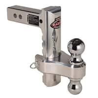 Trimax TRZ8AL-RP Razor 8in Aluminum Adjust Hitch Dual Ball