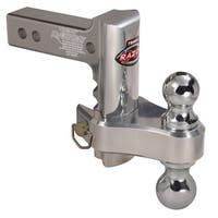 Trimax TRZ6AL-RP Razor 6in Aluminum Adjust Hitch Dual Ball