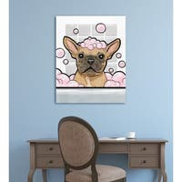 Oliver Gal ' 'Bubbly Personality '  Canvas Art