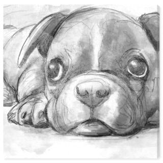 Hatcher and Ethan 'Boston Terrier' Canvas Art