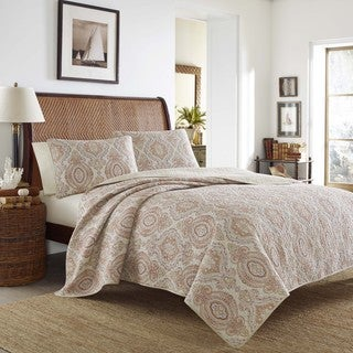 Tommy Bahama Turtle Cove Mango Quilt Set