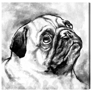 Hatcher and Ethan 'Pug' Canvas Art