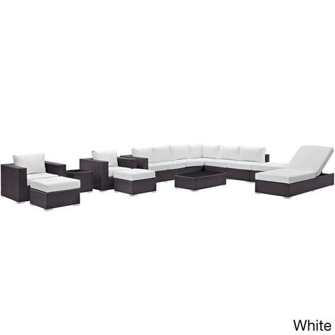 Gather 12-piece Outdoor Patio Sectional Set
