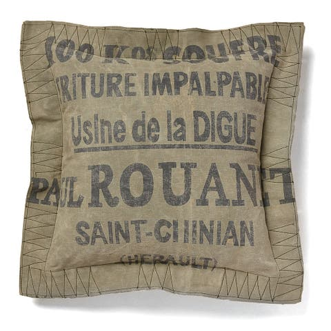 Cottage Home Saint Chinan 18 Inch Throw Pillow