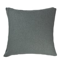 Drake Teal Knitted PIllow
