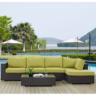 Gather 5-piece Outdoor Patio Sectional Set with Coffee Table