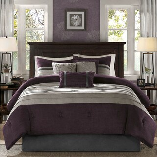 Madison Park Kennedy Plum Comforter Set (4 options available)