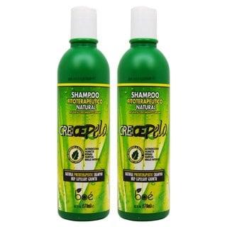 BOE Crece Pelo Shampoo Fitoterapeutico Natural 13.2-ounce Shampoo (Pack of 2)