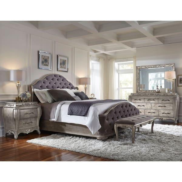 Shop Anastasia 6-piece King-size Bedroom Set - Free Shipping ...