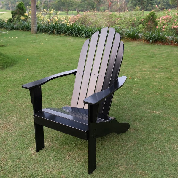 Alston Black Adirondack Chair
