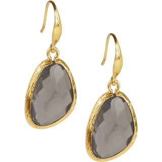 Handmade Saachi Faux Gem Earrings (China)