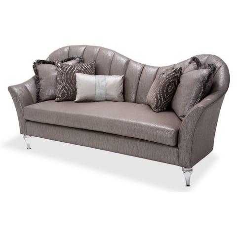 Maritza Channel Back Sofa by Michael Amini