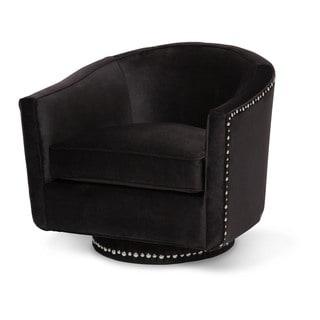 Loren Swivel Chair by Michael Amini