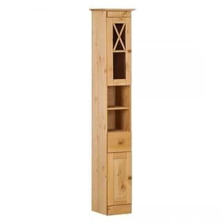 Cornelia Solid Pine Bath High Cabinet|https://ak1.ostkcdn.com/images/products/11458385/P18416230.jpg?impolicy=medium