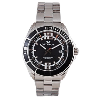 Viceroy Mens 40353-55 Silver Stainless Steel Watch