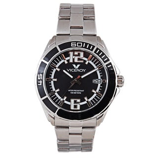 Viceroy Mens Silver Stainless Steel Watch