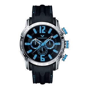 Viceroy Mens 42119-35 Black Rubber Watch