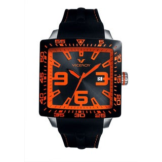 Viceroy Mens 432099-45 Black Rubber Watch