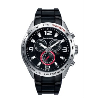 Viceroy Mens Black Rubber Watch