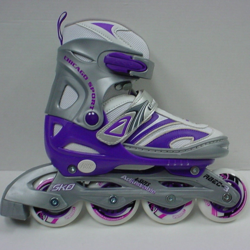 Chicago Skates Blazer Girls Adjustable Inline Skates (Adj...