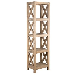 Oakely Rubber Wood Bookcase