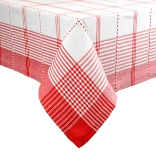 Radish Plaid Tablecloth