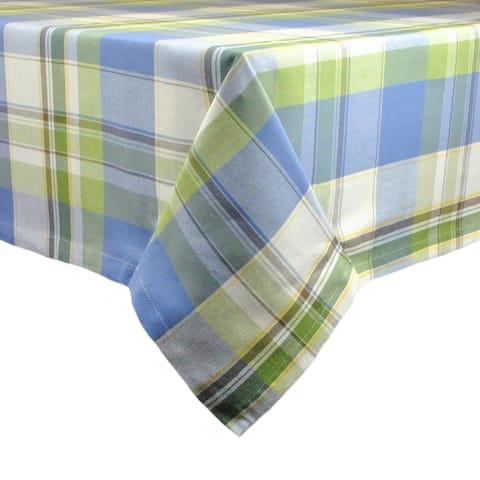 Lake House Plaid Tablecloth