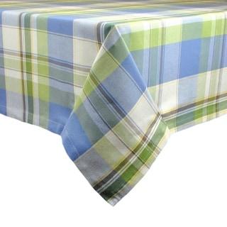 DII Lake House Plaid Tablecloth