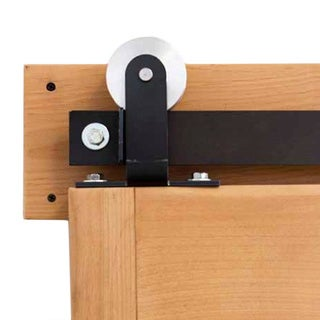 Rustica Hardware Top Mount Modern Barn Door Hardware