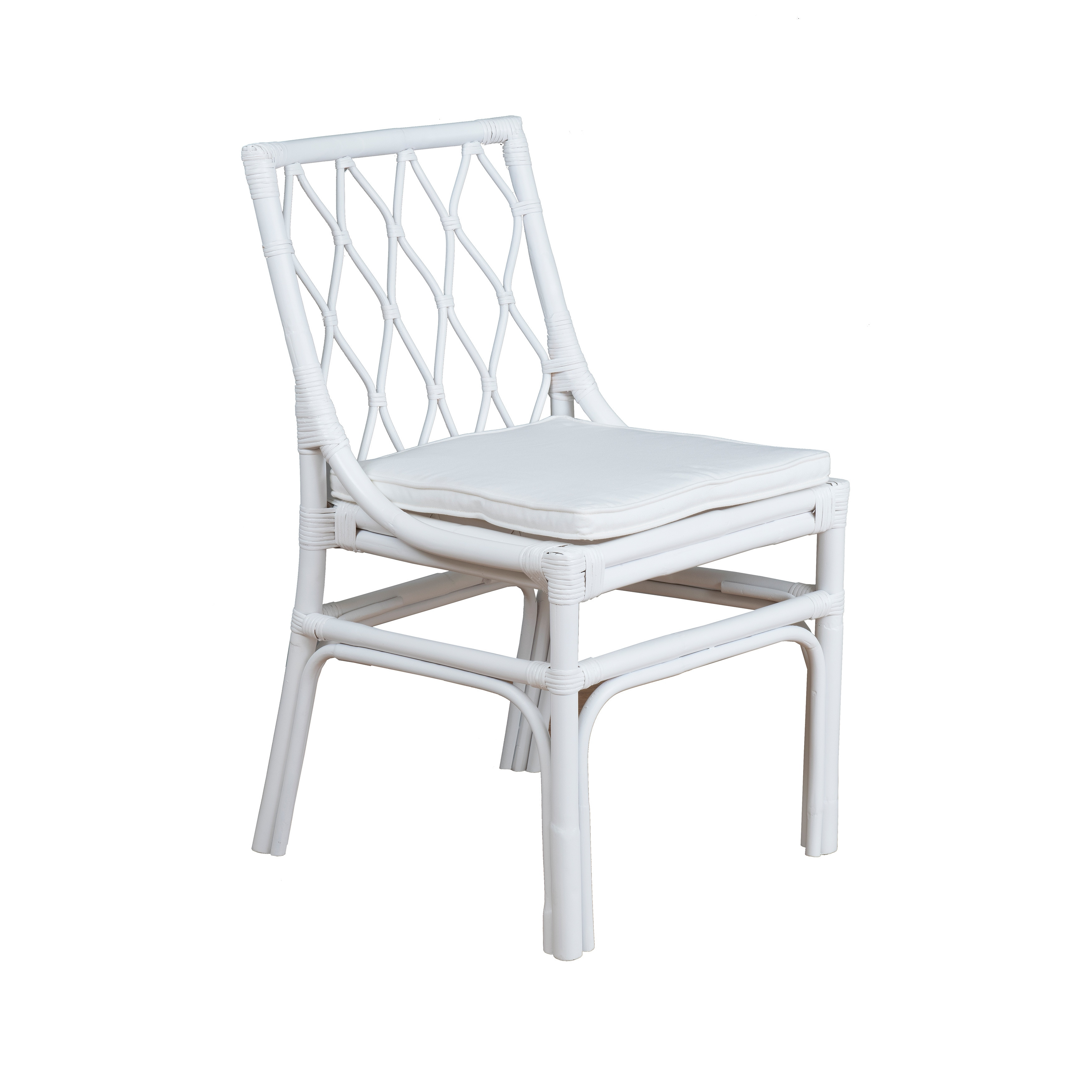 Magnificent East At Mains Sarasi Rattan Dining Chair Set Of 2 Ncnpc Chair Design For Home Ncnpcorg