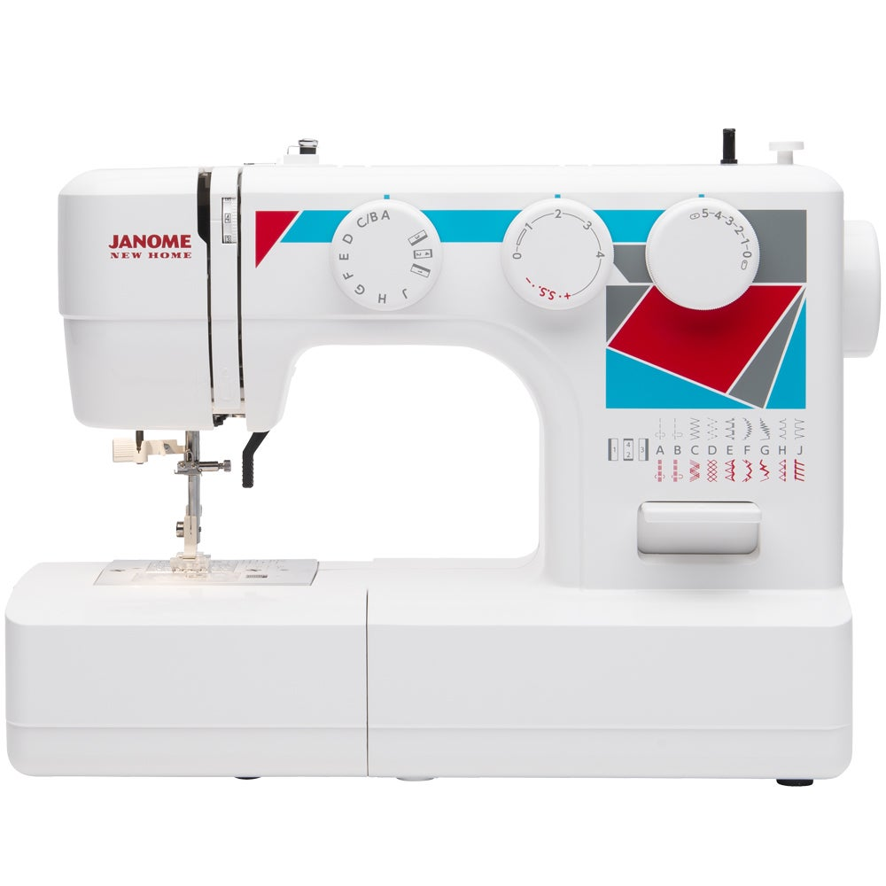 Janome MOD-19 Easy-to-Use Sewing Machine with 19 Stitches...