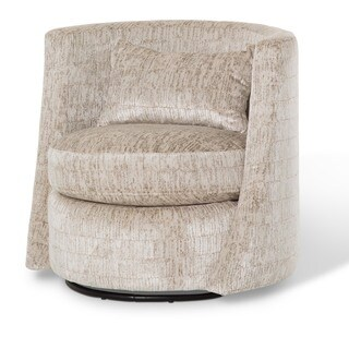 Brayson Swivel Chair by Michael Amini