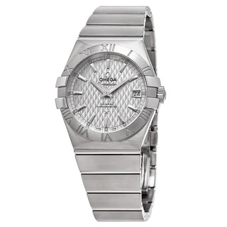 Omega Men's 123.10.35.20.02.002 'Constellation' Silver Dial Stainless Steel Swiss Automatic Watch