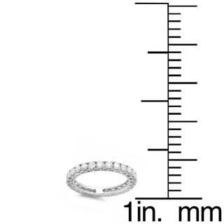 Elora 14k Gold 1 1/2ct TDW Round Diamond Wedding Eternity Ring (H-I, I1-I2)