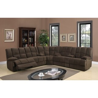 3-piece Sectional Dona Chocolate