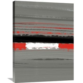 Naxart Studio 'Abstract Red 4' Stretched Canvas Wall Art
