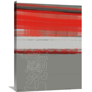 Naxart Studio 'Abstract Red 1' Stretched Canvas Wall Art