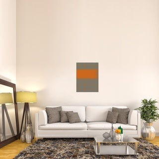 Naxart Studio 'Abstract Orange 3' Stretched Canvas Wall Art