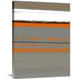 Naxart Studio 'Abstract Orange 2' Stretched Canvas Wall Art