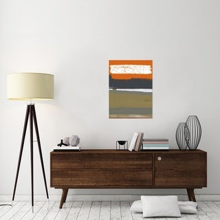Naxart Studio 'Abstract Orange 1' Stretched Canvas Wall Art